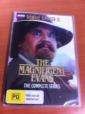 The Magnificent Evans : The Complete Series (DVD, 2014) BRAND NEW