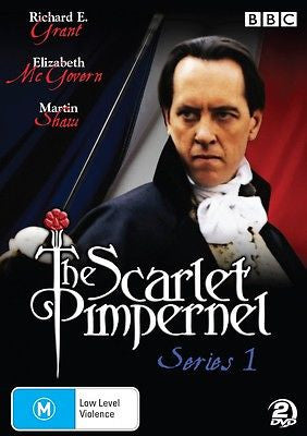 The Scarlet Pimpernel Series 1 * Richard E. Grant * 2 Discs Region 4 Like New