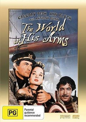 The World in His Arms (1952)  Starring Gregory Peck & Ann Blyth