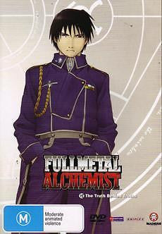 Full Metal Alchemist : Vol 12  The Truth Behind Truths (DVD, 2006) Like New