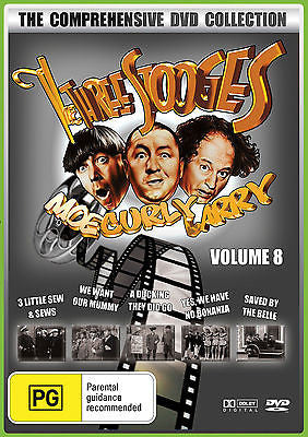 The Three Stooges Vol 8: 3 Little Sew & Sews + We Want Our Mummy + More