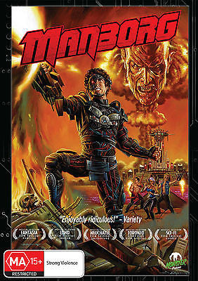 Manborg (DVD, 2013) * 80's Tribute Classic * Monster Pictures *