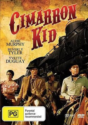 The Cimarron Kid *Audie Murphy* *James Best* *Classic Western* New and Sealed