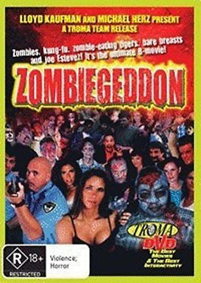 Zombiegeddon (DVD, 2011) * Troma DVD * BRAND NEW REGION ALL