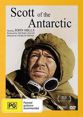Scott Of The Antarctic (DVD,) True Story Of Robert Falcon Scott ( John Mills )