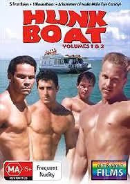 Hunk Boat : Vols 1 & 2 DVD (New) * Soft Core *