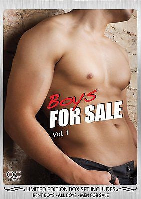 Boys for Sale Vol. 1 * Gay Interest *(DVD) Foreign  Documentaries REGION 1 NEW!