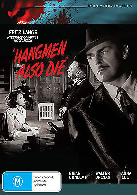 Hangmen Also Die! (1943) * Fritz Lang's Masterpiece of Intrigue and Deception *