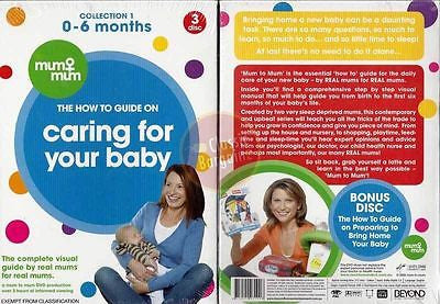 Caring For Your Baby 0-6 Months Collection 1 * NEW DVD * How To Guide