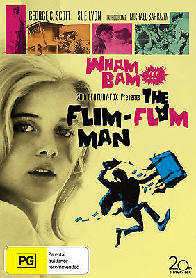 The Flim-Flam Man (1967) * Irvin Kershner * George C. Scott, Sue Lyon *