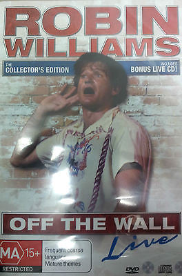 Robin Williams: Off the Wall - Live + CD. Features John Ritter, Henry Winkler