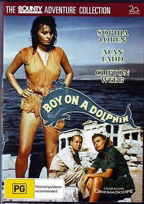 Boy on a Dolphin (1957)  * Alan Ladd * Clifton Webb * Sophia Loren *