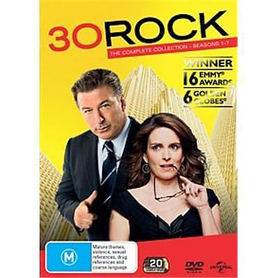 30 Rock : Season 1-7 (DVD, 2013, 20-Disc Set) Like New