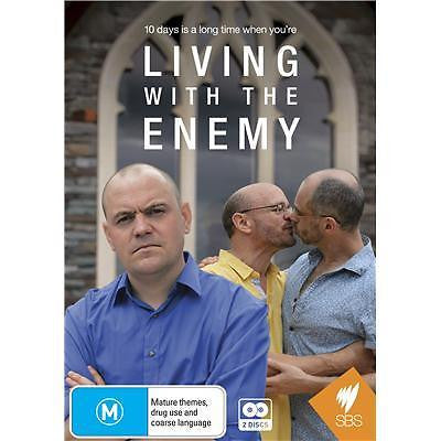 Living With The Enemy - Australia (DVD, 2014, 2-Disc Set)  LIKE NEW!