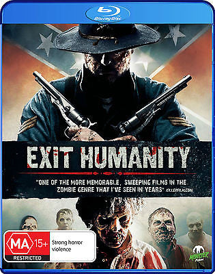 Exit Humanity (Blu-ray, 2012)  * Brian Cox, Dee Wallace * Monster Pictures *