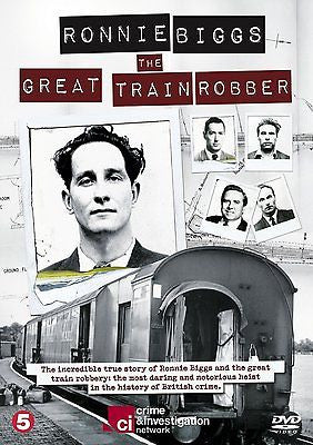 Ronnie Biggs - The Great Train Robber [DVD] REGION 2 BRAND NEW