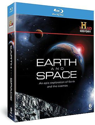Earth and Space (How the Earth was Made & Universe) Blu-Ray Region Free  NEW!