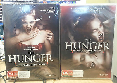 The Hunger: Seasons 1+2 (7 Disc Set) * Erotic Vampires * David Bowie *