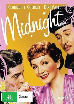 Midnight - Starring Claudette Colbert & Don Ameche