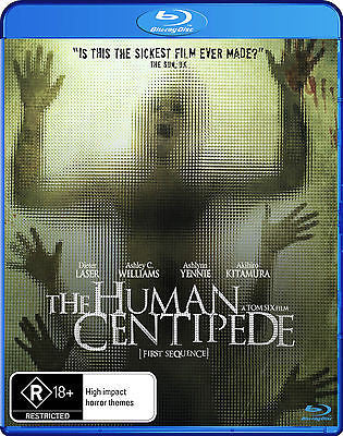 The Human Centipede (2010) + Extra Features * Monster Pictures *