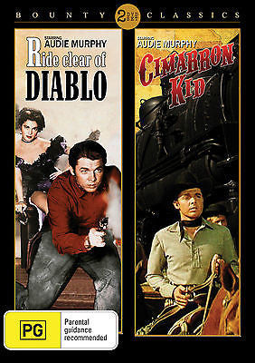 Ride Clear Of Diablo (1954) / The Cimarron Kid (1952) Double Pack