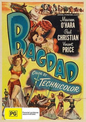 Bagdad, 2013 Action/Adventure Maureen O'Hara DVD NEW