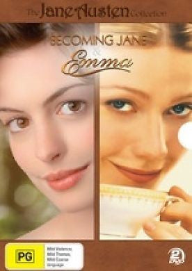 Becoming Jane & Emma Box Set  * Jane Austen * ( 2 Discs ) BRAND NEW REGION 4