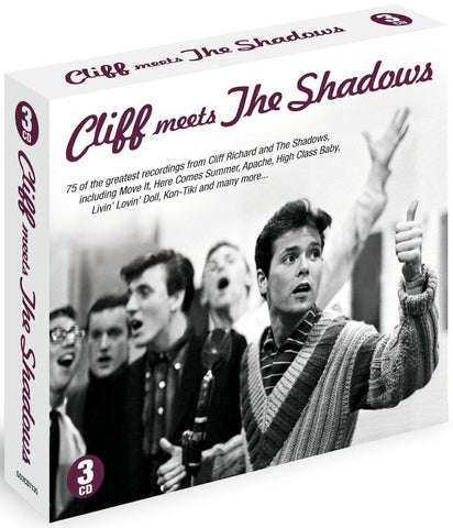 Cliff Meets the Shadows CD ( 3 CD BOX SET ) BRAND NEW