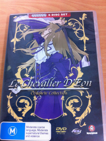 Le Chevalier D'eon Collection (DVD, 6-Disc Set)  BRAND NEW REGION 4