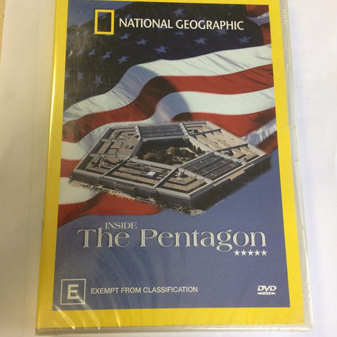 National Geographic - Inside The Pentagon (DVD, 2005) BRAND NEW REGION 4