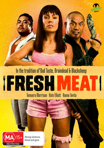 Fresh Meat (DVD, 2014) + Extras * Temuera Morrison * Monster Pictures *