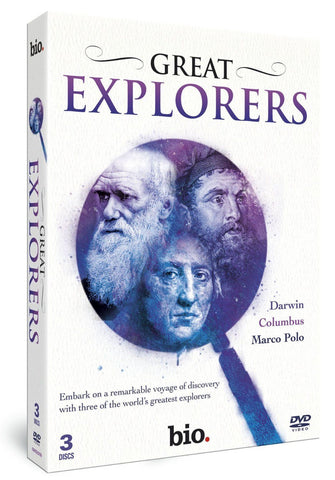 GREAT EXPLORERS (DVD ) 3 Discs REGION 2 BRAND NEW