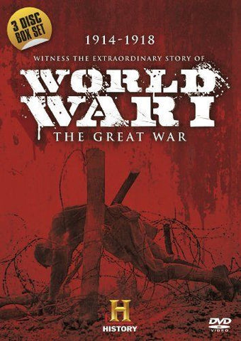 World War 1: The Great War [DVD]  3 DISCS REGION 2 BRAND NEW