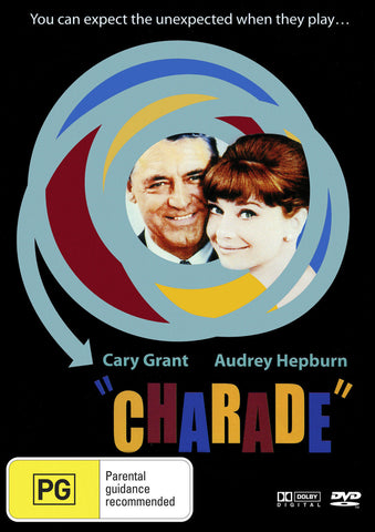 Charade (1963) * Cary Grant * Audrey Hepburn * Walter Matthau* All time classic!