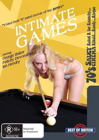Intimate Games ( 1976 )  * British Sex Comedy * BRAND NEW REGION 4