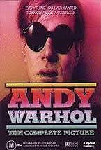 ANDY WARHOL THE COMPLETE PICTURE DVD NEW AND SEALED