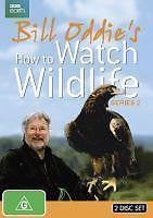 Bill Oddie's How To Watch Wildlife : Series 2 (DVD, 2014, 2-Disc Set) BRAND NEW