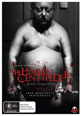 The Human Centipede 2  * Monster Picturres*  (DVD, 2012) BRAND NEW