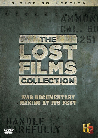 The Lost Films Collection [DVD] 8 Disc Collection REGION 2 BRAND NEW