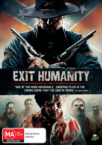 Exit Humanity (DVD, 2012) * Brian Cox, Dee Wallace * Monster Pictures *
