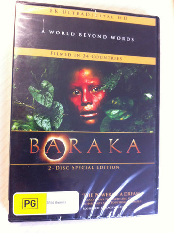 Baraka (DVD, 2009) BRAND  NEW REGION 4  (2- DISC SPECIAL EDITION )