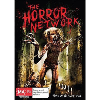 THE HORROR NETWORK DVD NEW AND SEALED