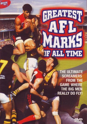 The AFL - Greatest AFL Marks Of All Time (DVD, 2007) LIKE NEW