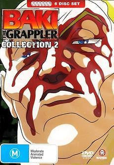 Baki The Grappler - Collection 2 (6 Disc Fat Pack) *Plus Special Features*