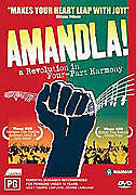 Amandla! - A Revolution in Four Part Harmony (DVD , 2 Disc ) LIKE NEW REGION ALL