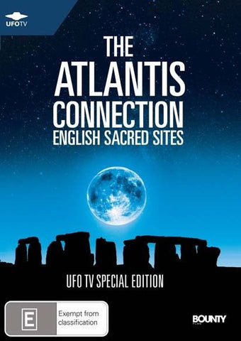 THE ATLANTIS CONNECTION - SACRED SITES - NEW DVD - R4 UFO TV