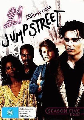 21 Jump Street Season 5, 5 disc set * Johnny Depp *