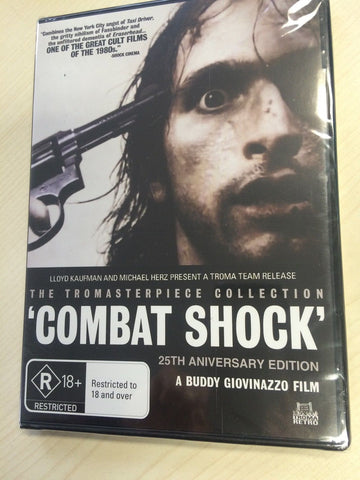 Combat Shock (DVD, 2011) * Troma * * Priced to Clear *