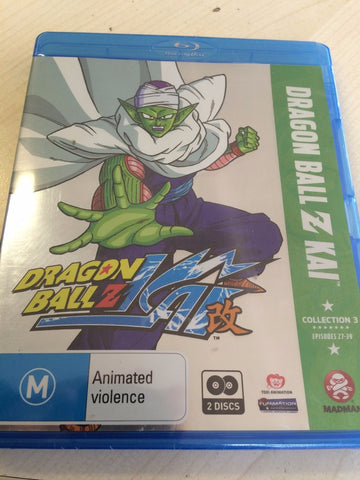 Dragon Ball Z Kai : Collection 3 (Blu-ray, 2011, 2-Disc Set)  BRAND NEW REGION B