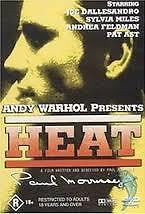 HEAT DVD Paul Morrissey 1972 BRAND NEW Andy Warhol Presents